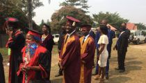 Clôture de l'année académique 2017-2018 à l'Université Loyola du Congo (U.L.C.)